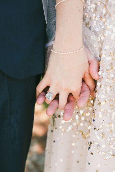 Hochzeit - Gold Glitter   Blush Calabasas Wedding