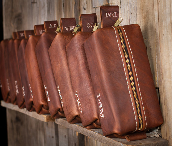 HANDMADE Men s Leather Toiletry Case Dopp Kit Shaving Bag OOAK Groomsmen  Present Groomsman Gift Wedding Groom Lifeless Leather Co Cognac Bag d07a7dccd0