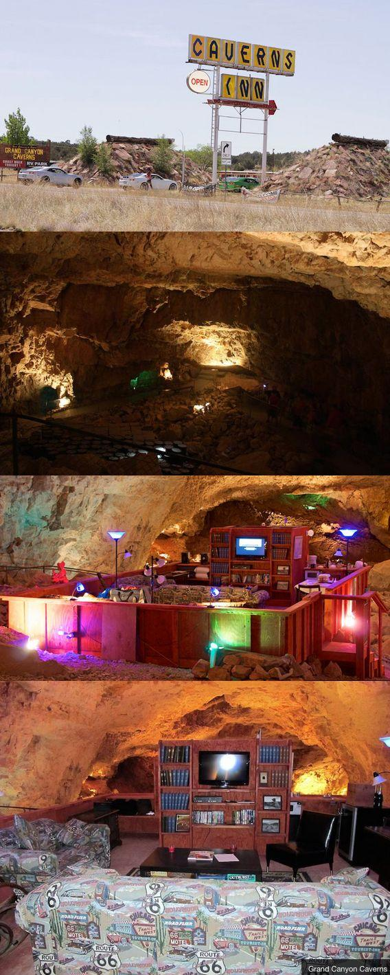 Hochzeit - Spend The Most Amazing Weekend At Route 66's Best Kept Secret: The Grand Canyon Caverns