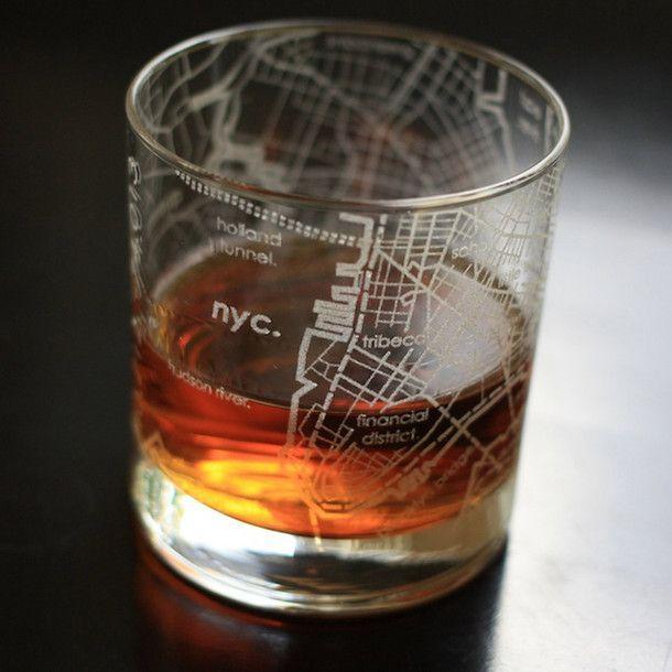 Свадьба - New York Rocks Glass Set Of 2