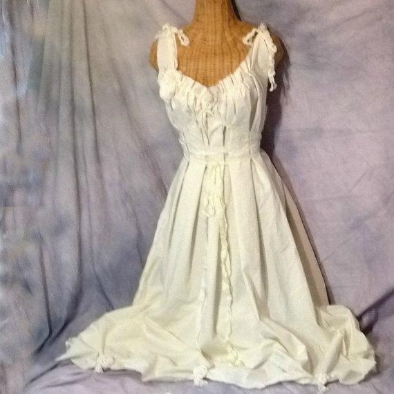 Cream Corset Wedding Dresses