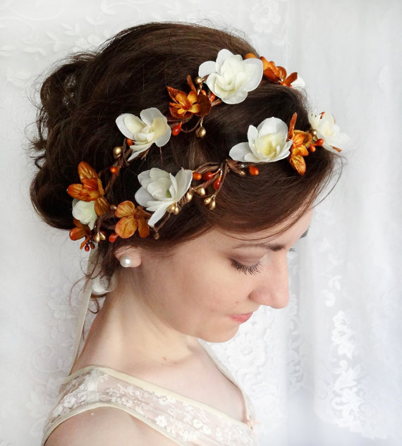 Fall Wedding Flower Crown 4fbd8aa97cb