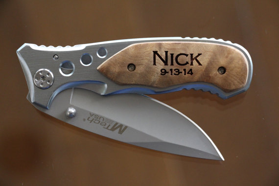 4 Groomsmen Gifts Best Gift Knife Unique Personalized Groomsman Usher Man