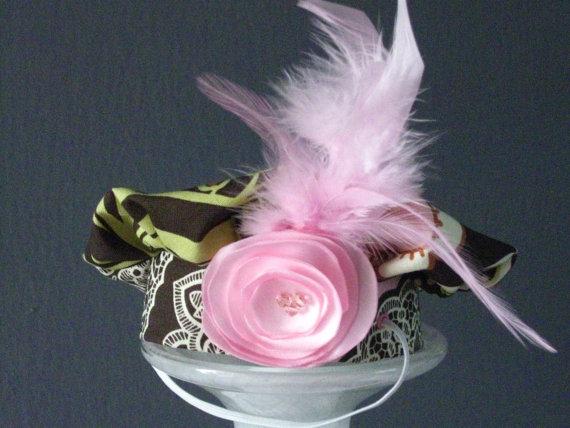 Свадьба - Dog Beret Hat, Retro Pink