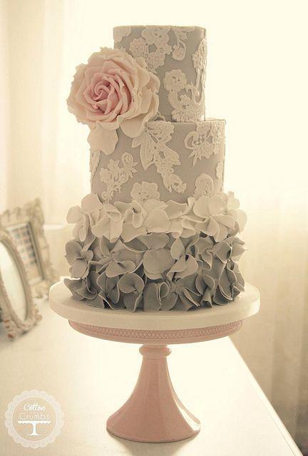 Wedding - Creative Cakes...way To Pretty To Eat!