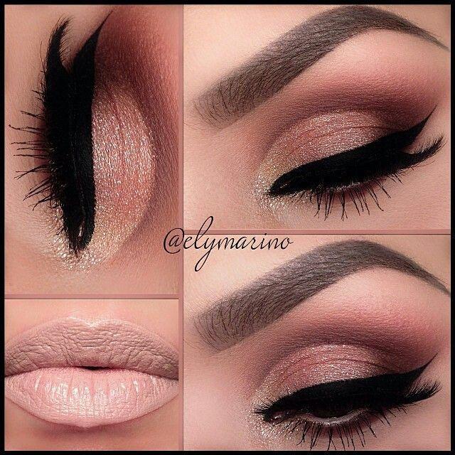 Свадьба - 14 Overwhelming Smokey Eye Makeup Looks And Tutorials