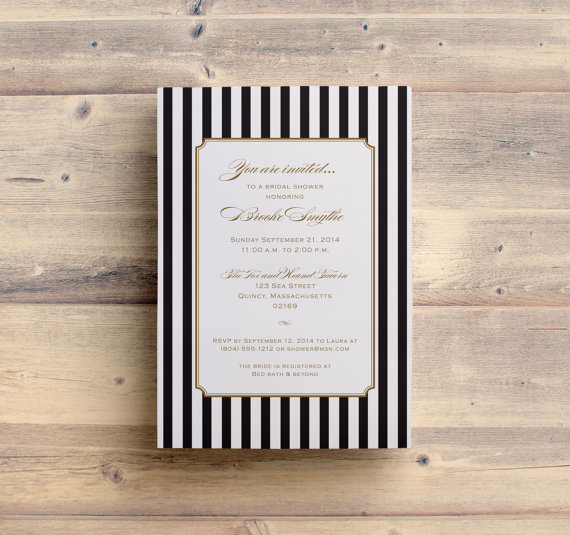 Свадьба - Printable Bridal Shower Invitation Printable Wedding Shower Invitations Printable Invitations Digital File for Self-Print