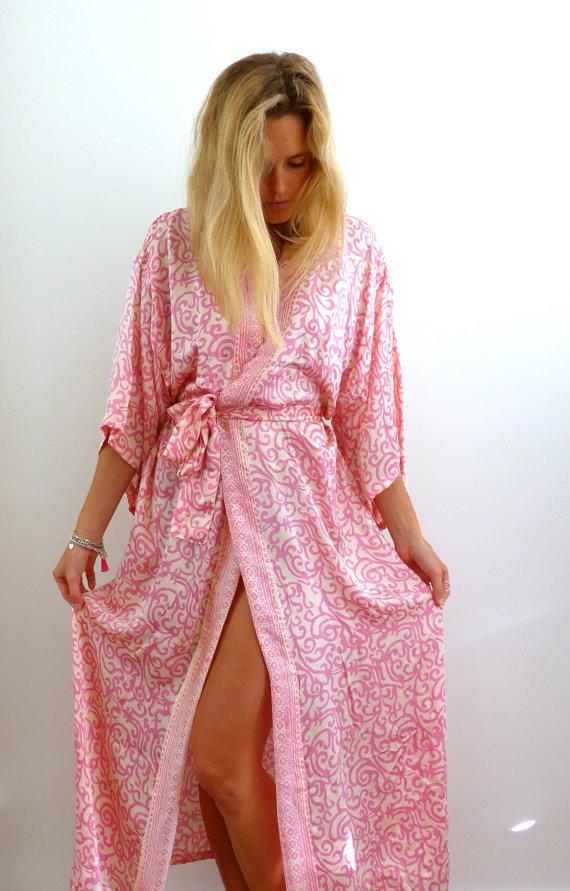 Silk Robe - Bridal Kimono Robe 84fb1dca9