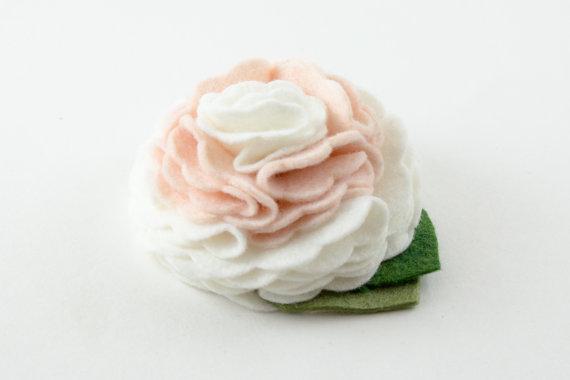 Свадьба - Pearl Ivory Dog Collar Flower