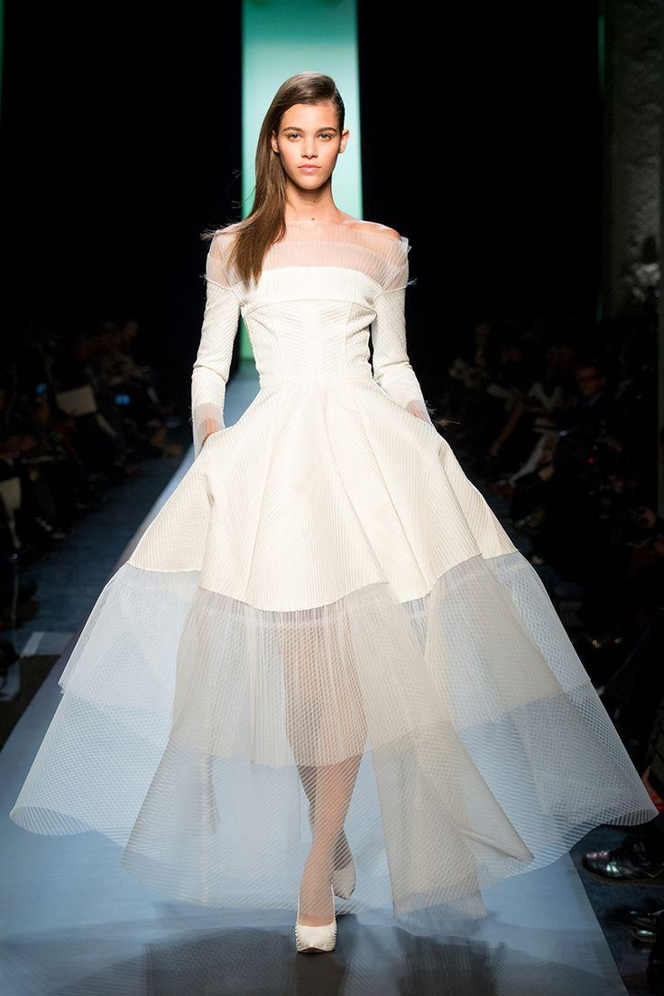 Wedding - The 10 Best Bridal Dresses From The Spring 2015 Couture Collections