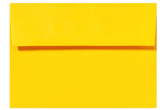 25048b0c2baf3 100 Bright Yellow Astrobright A7 A6 A2 60lb Envelopes For Greeting ...