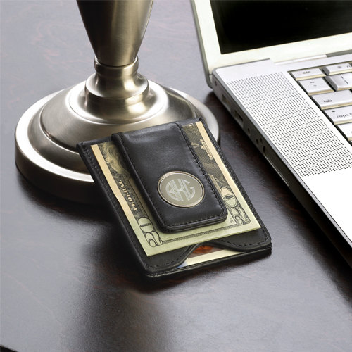 Свадьба - Personalized Money Clip Wallet Combo - Groomsmen Gift Idea - Groomsman Gift - Best Man Gift - Fathers Day Gift- Boyfriend Gift (FC1041)