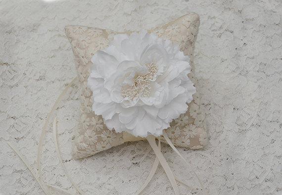 Mariage - ring bearer pillow, ring pillow, ring bearer, ring holder, wedding ring pillow