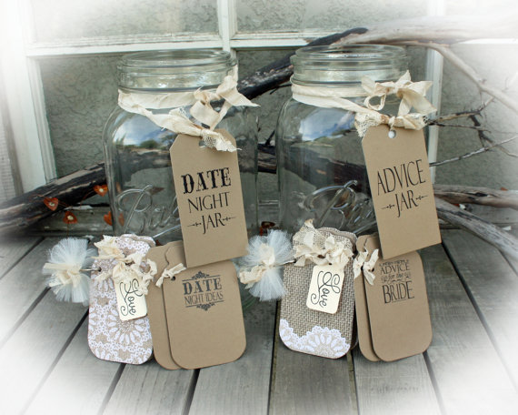 Bridal Shower Date Night Ideas Jar And Advice For The Bride 2 Fun