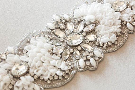 Свадьба - Wedding Sash belt - Soft (Made to Order)