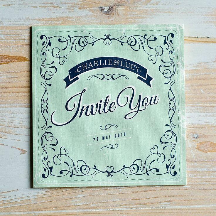 Wedding - Sweet Things Wedding Invitation Suite
