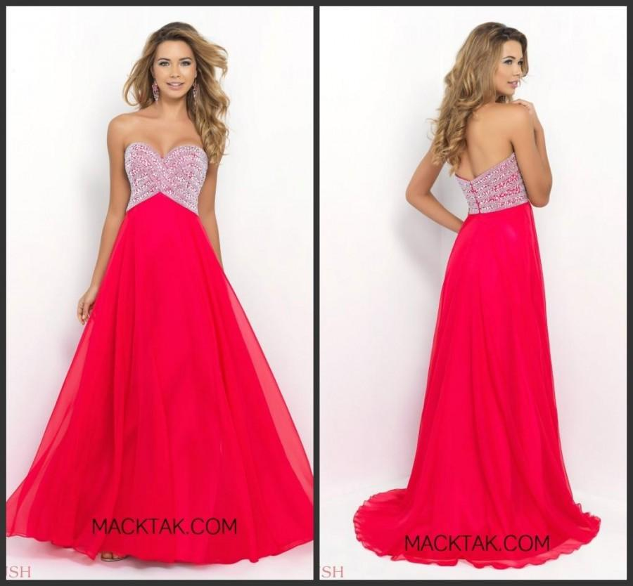 Mariage - New Style Evening Dresses Party Sweetheart Neckline Chiffon A-Line Heavy Beaded Long Prom Formal Dress Ball Gowns Hot Selling Cheap Online with $130.84/Piece on Hjklp88's Store