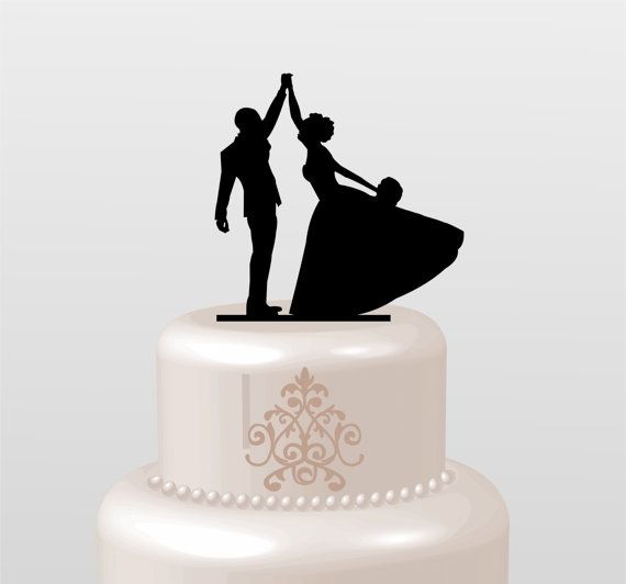 Bride And Groom Toppers For Cake