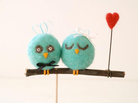 Love Sign Cake Topper Etsy Bird