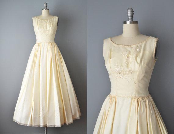 Gloves 50s Wedding Dress At