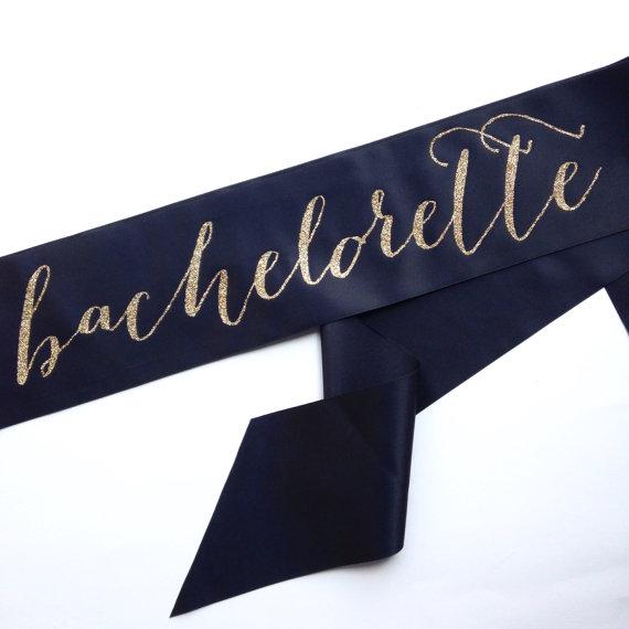 Mariage - Bachelorette Bridal Bride to be Sash