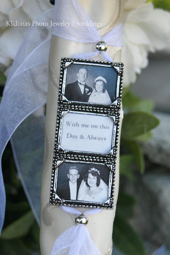 Свадьба - Bridal Bouquet Charm, Wedding Bouquet Charm, Bouquet Charm, Photo Charm, Wedding Gift for Bride, Brides Gift, Bridal Shower. Memory Charm