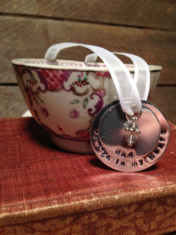 Wedding - Bridal Bouquet Memorial Charm, Wedding Bouquet Charm, Memorial Charm, Remembrance Charm, Bouquet Charm,
