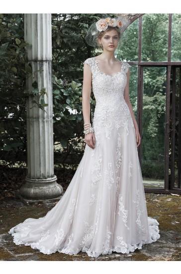 Hochzeit - Maggie Sottero Bridal Gown Ravenna 5MB650