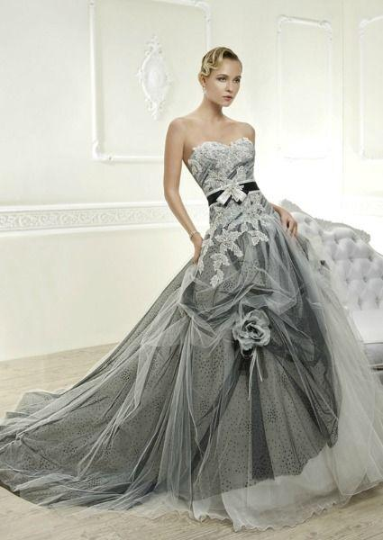 Свадьба - Grey Wedding Color Inspiration