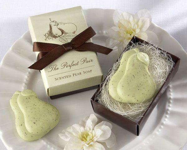 Свадьба - The Perfect Pair - Scented Pear Soap Favor