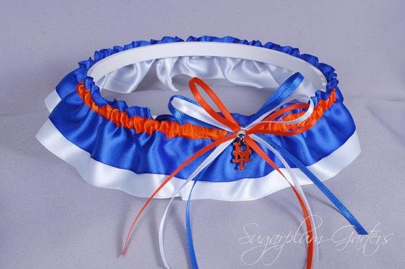 Mariage - New York Mets Wedding Garter