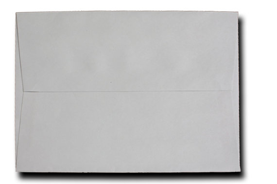 Mariage - 50 Pastel Gray Envelopes A7 A6 A2 60lb for Invitations Announcements Response Greeting Cards Enclosures Showers Weddings Crafts Stampin Up