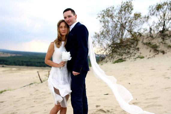 Hochzeit - Felted dress - Felt white wedding Dress White color Merino Wool and Silk  original Handmade eco friendly comfortable Women dress