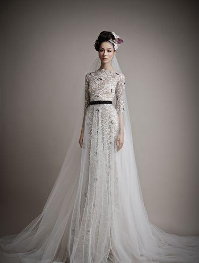 Boda - Long Sleeved & 3/4 Length Sleeve Wedding Gown Inspiration