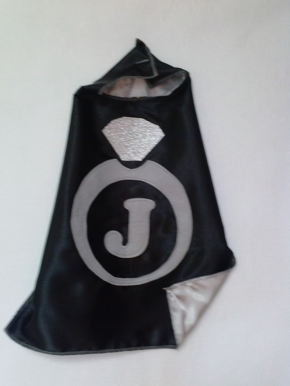 Wedding - Ring Bearer CAPES for Baby and Kids: Double-Sided with Initial and Emblem