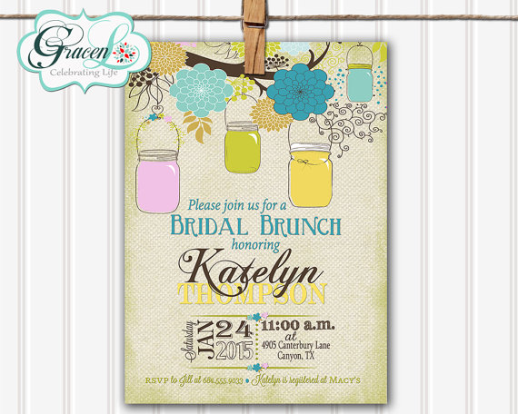 646ddd5784b0 Bridal Luncheon Invitation