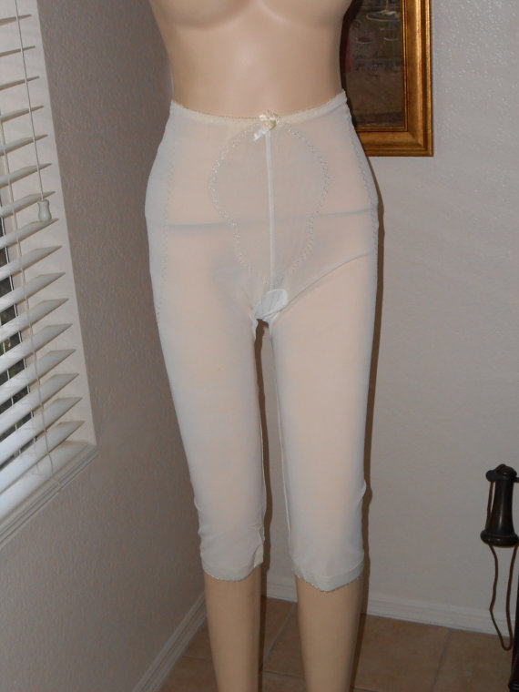 Vintage Extra Long Leg Panty Girdle By Real Form Girdles Of Grace Size Large