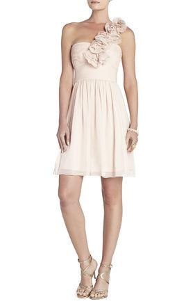 Свадьба - Best Bcbg Thalia One-Shoulder Sleeveless Short Dress