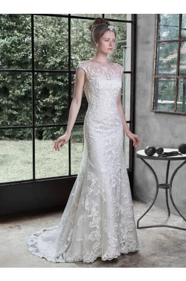 Hochzeit - Maggie Sottero Bridal Gown Nanette 5MW647