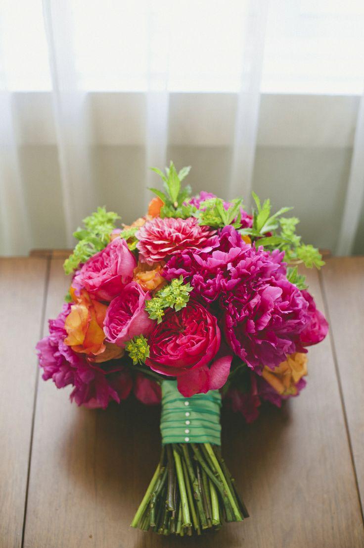 Hochzeit - Bridal Bouquets  Bright And Bold