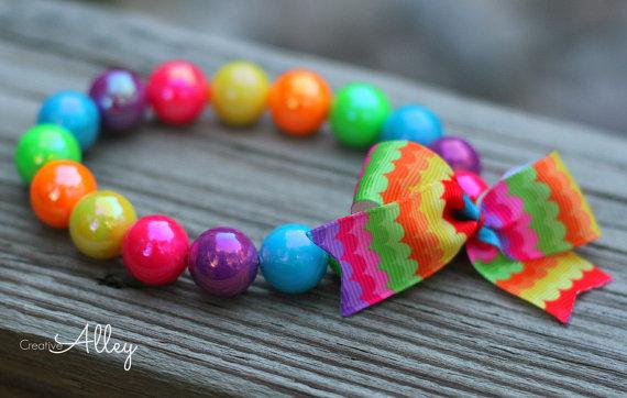 زفاف - Dog necklace, chunky bead dog necklace, dog collar, designer dog accessory