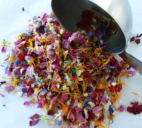 Flower Petals, Dried Flowers, Wedding Confetti, Tossing Flowers ...