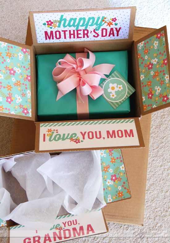 Hochzeit - Mother's Day Care Package