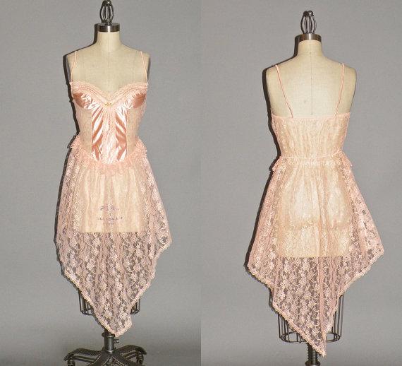 Vintage Bohemian Bridal Lingerie, Handkerchief