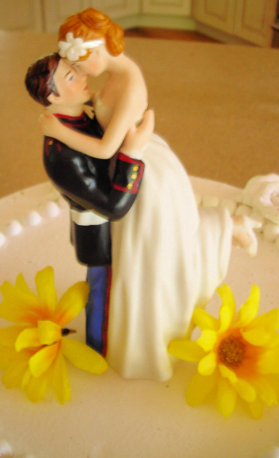 Cake Topper Wedding Corps Bride