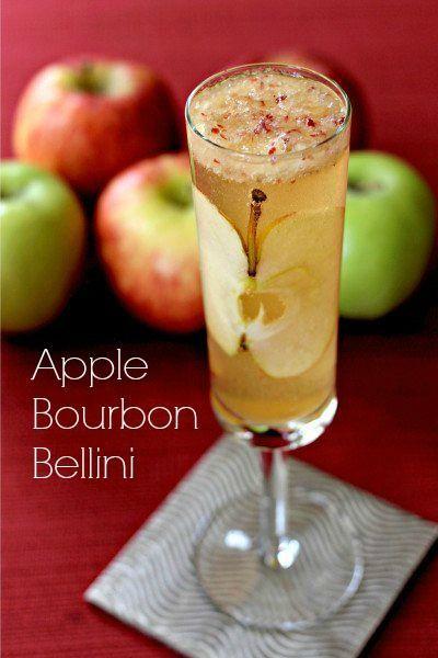 Свадьба - Apple Bourbon Bellini