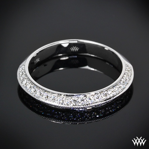 Mariage - Pave Engagement Rings And Wedding Bands - Pave'd In Diamonds