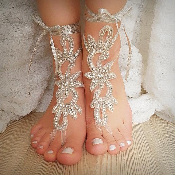 f9b70c31639f56 Rhinestone Anklet