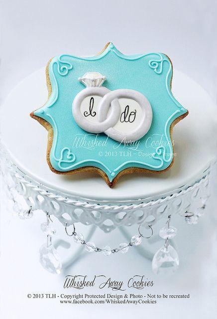 Свадьба - Plaque Cookies