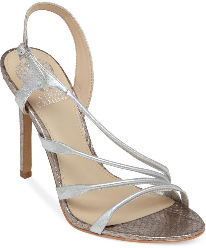 8f33aa3bef1f Vince Camuto Tiernan Asymmetrical Evening Sandals  2300205 - Weddbook